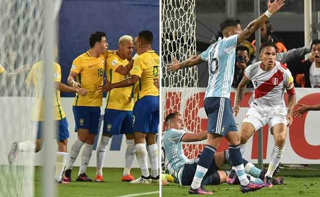 البرازيل تكتسح بوليفيا والأرجنتين تتعثر