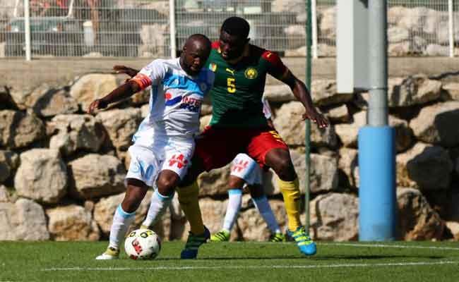 منتخب الكاميرون يتعادل  مع فريق مارسيليا