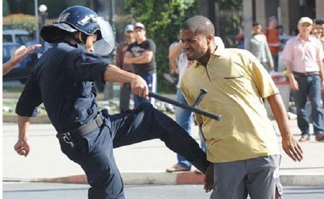 يا أصحاب الفتنة هذه الصورة في موزمبيق والشرطة الجزائرية أَحَنُ على المواطن من أُمِهِ