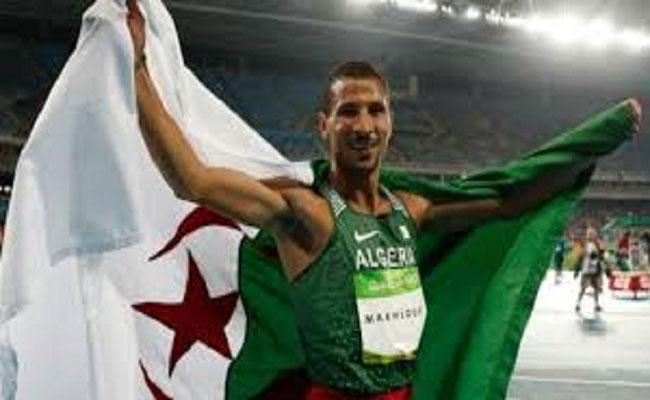 2016 على مستوى الرياضي توفيق مخلوفي رَاسِمْ البسمة على وجوه الجزائريين