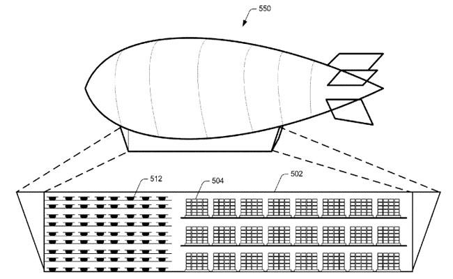 جنون أم حقيقة  : مناطيد ضخمة على ارتفاع 45000 قدم تلعب دور مستودعات عملاقة