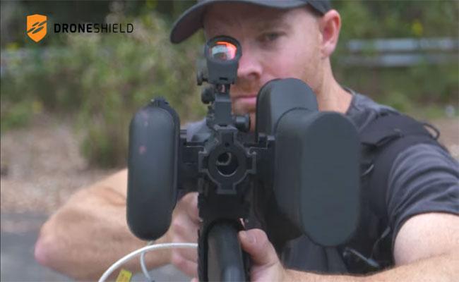 Dronegun : سلاح من DroneShield لمكافحة الدرونات