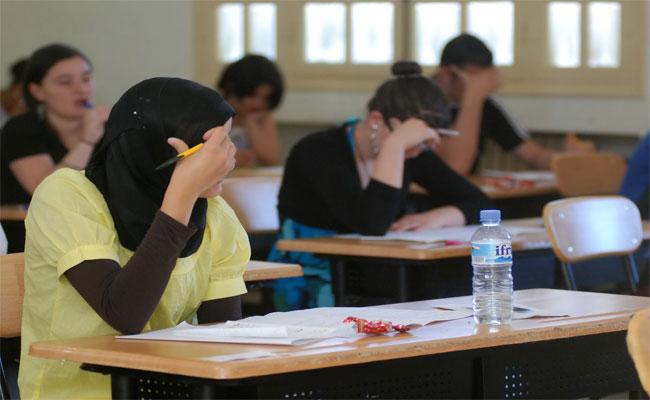 امتحانات شهادة البكالوريا: الرجوع إلى نظام الخمسة أيام