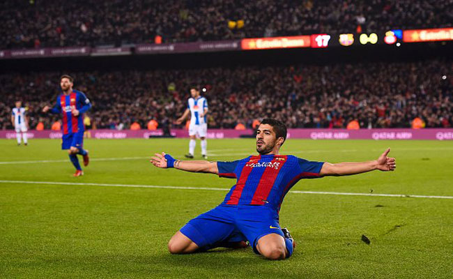 برشلونة يسحق إسبانيول في ديربي كتالونيا