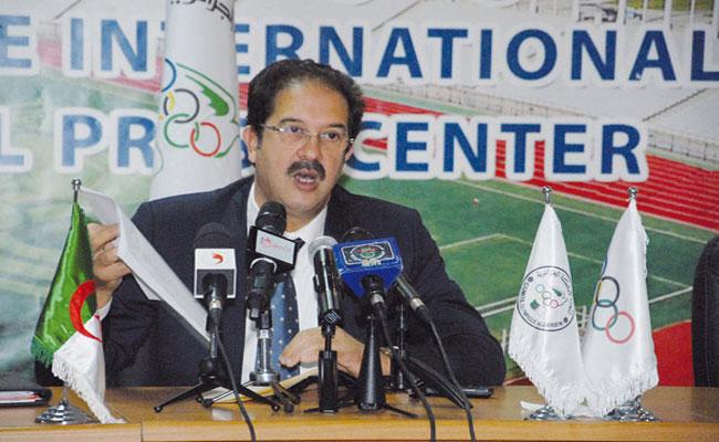 بيراف يقترح تنظيم مشترك لتنظيم الأولمبياد