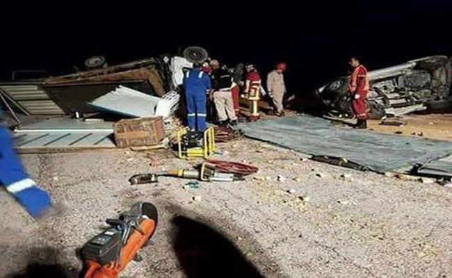 لقي 6 أشخاص حتفهم و أصيب 2 بجروح متفاوتة الخطورة بولاية إليزي