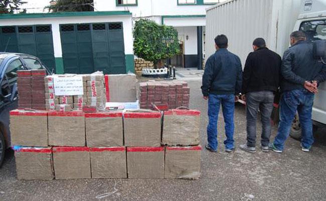 إلقاء القبض على ثلاثة تجار المخدرات و حجز 6 قناطير من الكيف المعالج بتلمسان