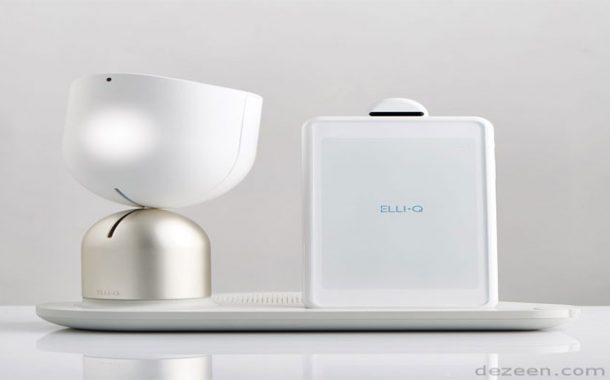 ElliQ : روبوت مخصص لمرافقة كبار السن