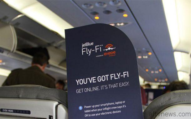 واي فاي مجاني بطائرات شركة الطيران جيت بلو