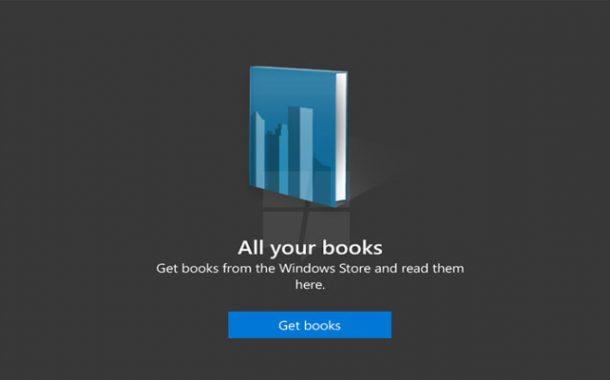 قسم خاص بالكتب الإلكترونية على متجر ويندوز