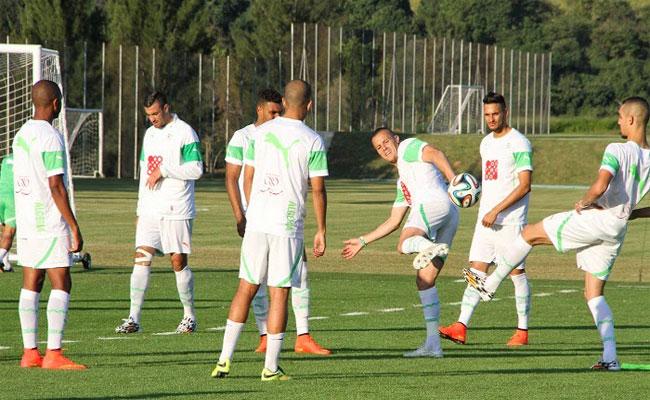 19 لاعبا في بداية معسكر الخضر