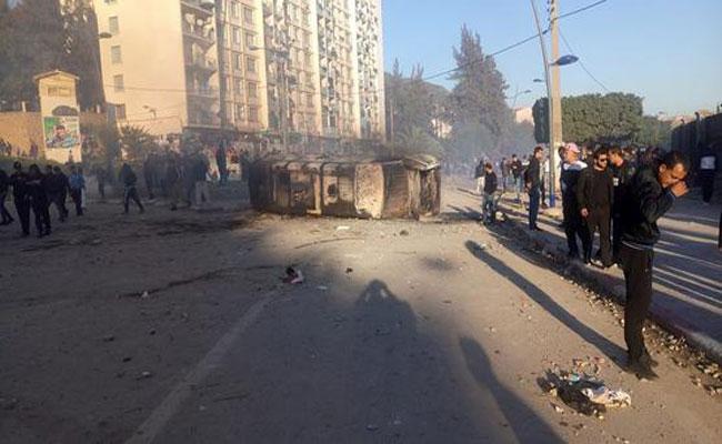 مصالح الأمن تشن حملة توقيفات واسعة ضد مرتكبي أعمال النهب و التخريب بولاية بجاية