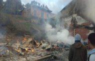 نشوب حريق مهول في مدرسة الشهيد فوضيل محمد الابتدائية بتيزي وزو