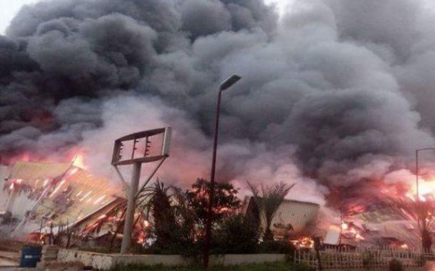 حريق بمخزن بقصر المعارض بالصنوبر البحري بالعاصمة لم يخلف خسائر بشرية