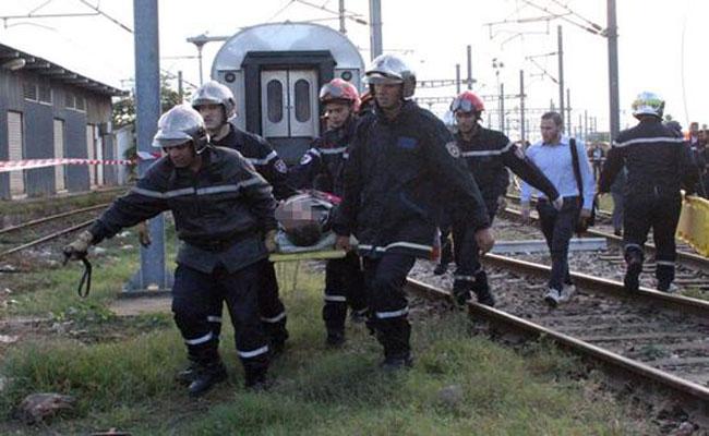 قطار يدهس شابا بالرغاية و مصالح الأمن تتحرى هوية الهالك