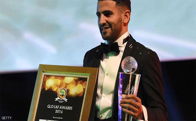 رياض محرز يتوج كأفضل لاعب في افريقيا