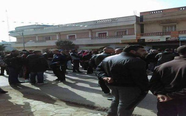 المصالح الآمنية توقف 36 شخصا على خلفية أعمال شغب قام بها محتجون بمستغانم