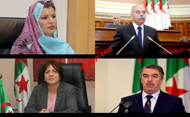 أربعة وزراء من حزب الأفلان أودعوا ملفات الترشح لتشريعيات 4 ماي
