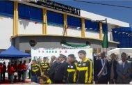 وزير الداخلية والجماعات المحلية السيد نور الدين بدوي يدشن المركب الرياضي