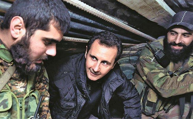 الأسد: دول خليجية تدعمنا