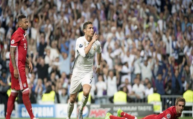 ريال مدريد في نصف نهائي دوري الأبطال