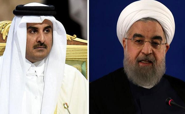 إيران تدعم قطر رسميا في أزمتها مع دول الخليج