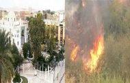 هزة أرضية تضرب بسكرة و 3 حرائق مهولة بسكيكدة