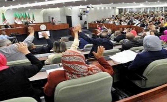 انتخاب قائمة نواب رئيس المجلس الشعبي الوطني بالأغلبية