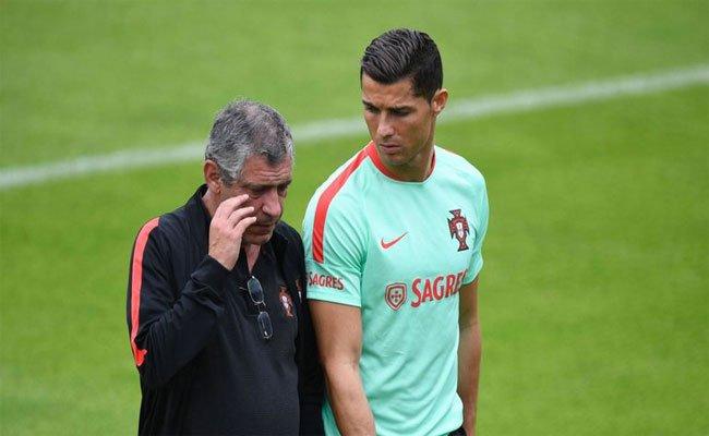 رونالدو يصدم الصحفيين بعد المباراة