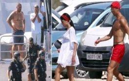 خلال عطلته الصيفية يخت رونالدو يتعرض لمداهمة الشرطة