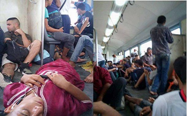 القطارات من ولاية المسيلة إلى ولاية بجاية من قطارات الإستجمام إلى قطارات الإحتقار