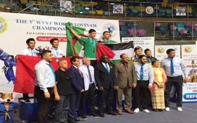 صحافة فلسطين تشكر إلتفاتة الفريق جزائري  لرياضة (Vovinam)