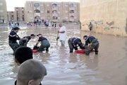 الحمد الله أن الأمطار من فضحتكم وليس المواطنين