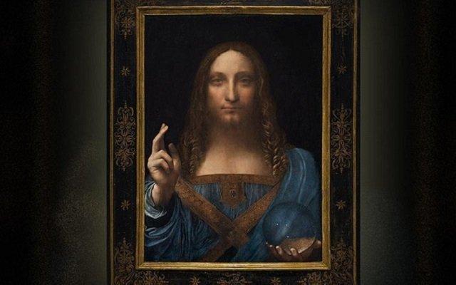 لوحة المسيح لدافينشي بيعت  بحوالي نصف مليار دولار لتحطم رقم لوحة نساء الجزائر