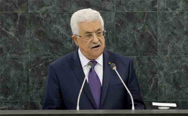 إشادة رئيس دولة فلسطين أبو مازن بموقف الجزائر و وقوفها الدائم وتضامنها اللامشروط مع الشعب الفلسطيني