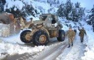 الحماية المدنية: الأمطار والثلوج تتسبب في قطع العديد من الطرقات وانزلاق السيارات