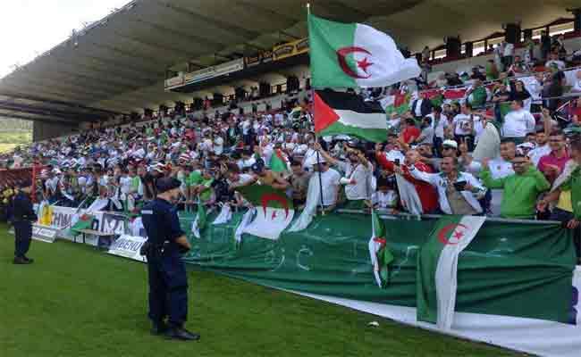 الجزائر تقابل فلسطين وديا