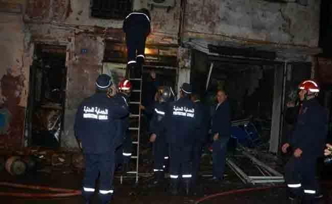 مقتل امرأة في حادث انفجار بمحل لبيع قارورات غاز البوتان بوهران