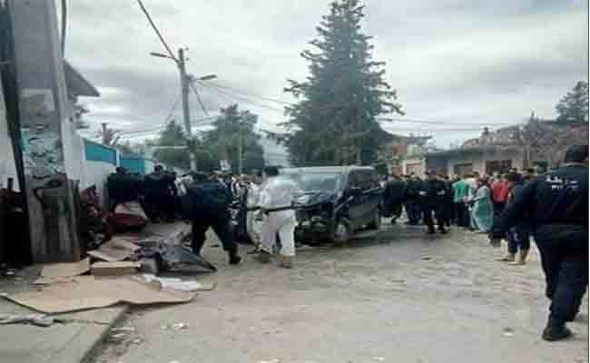 مقتل أربعة أشخاص و إصابة 12 آخرين في حادث اصطدام سيارة نفعية بعدة مارة بالبليدة