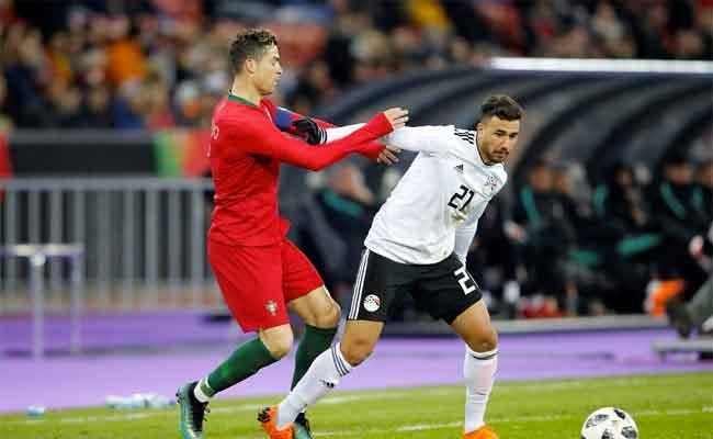 رونالدو يقود البرتغال للفوز على مصر