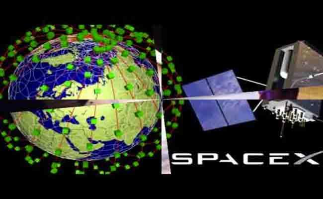 سبيس إكس حصلت على الموافقة لإرسال أسطولها من الأقمار الإصطناعية إلى المدار
