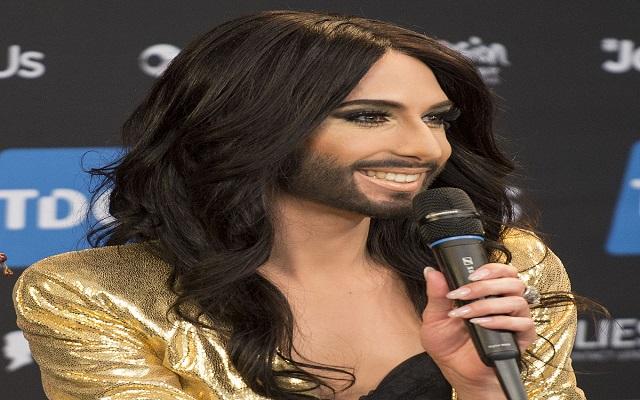 المغنية الملتحية  مصابة بفيروس الإيدز