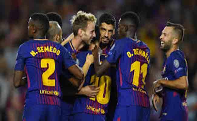 برشلونة يقترب من حسم اللقب
