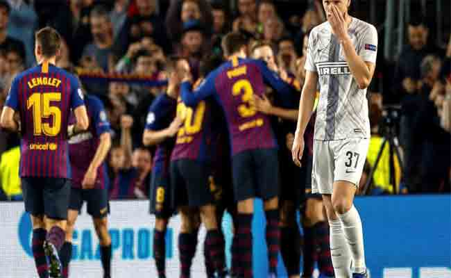 انتصار لبرشلونة بدون ميسي