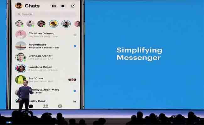 فيسبوك ماسنجر في حلة جديدة تركز على البساطة