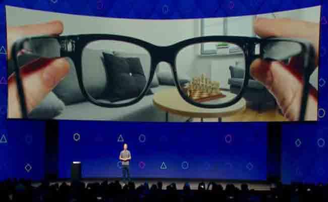 فايسبوك تعمل بالفعل على نظارات للواقع المعزز