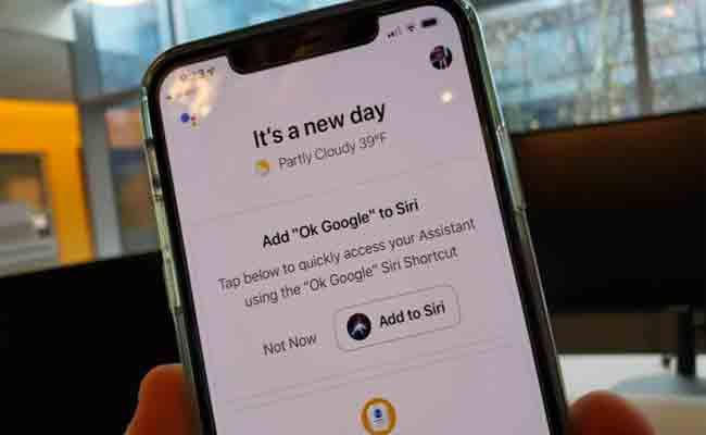 سوف يمكنك الآن تفعيل المساعد جوجل على iOS عبر العبارة OK Google