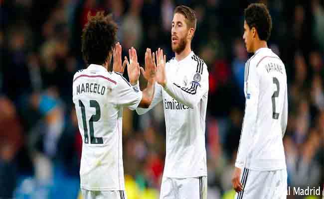 غياب 6 مدافعين عن ريال مدريد