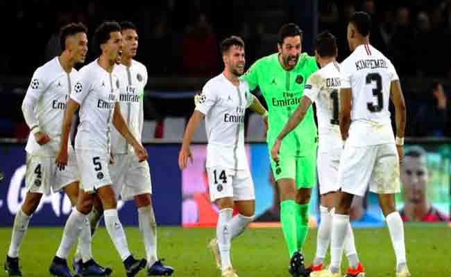 باريس سان جرمان يفوز على ليفربول