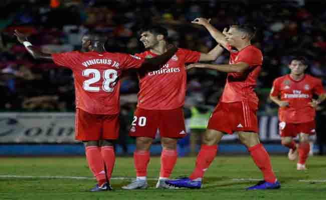 ريال مدريد يكتسح فريق مليلية